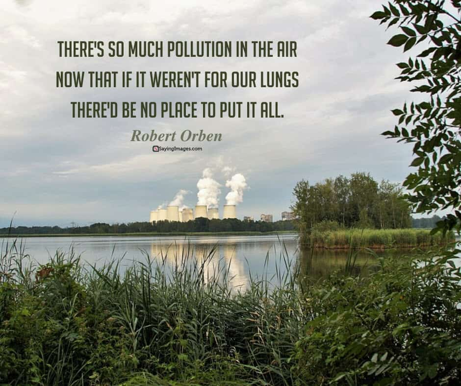 earth day pollution quotes