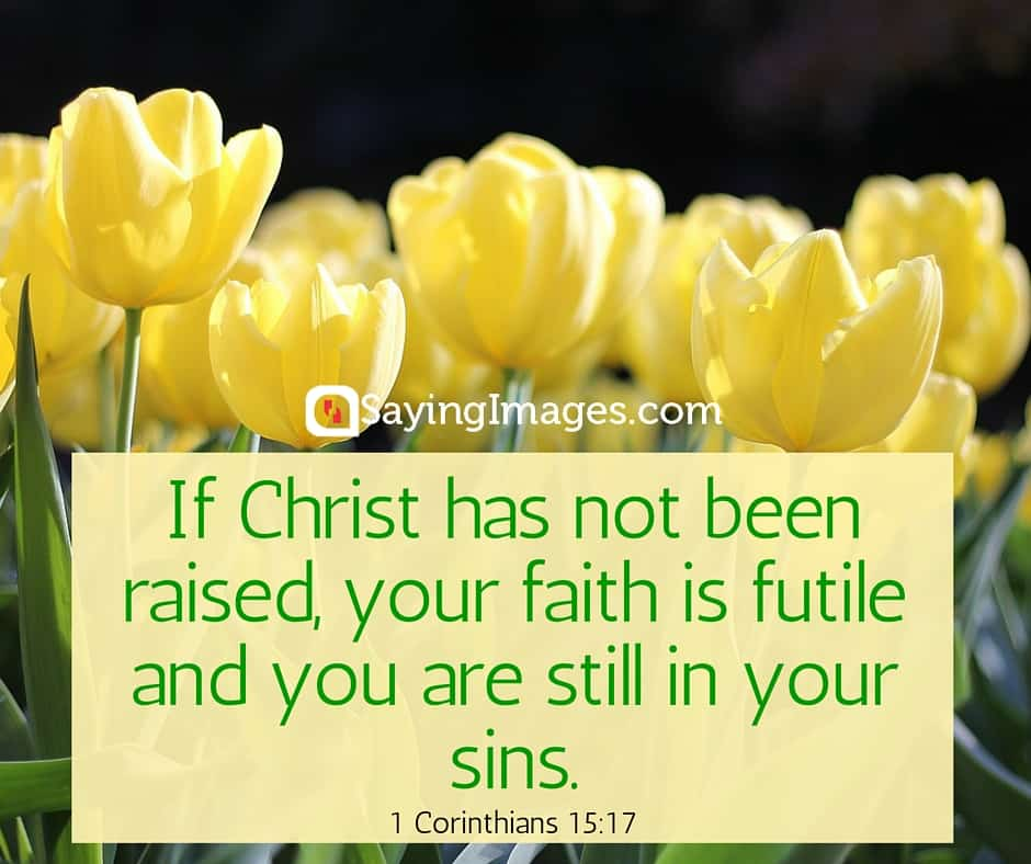 22 Easter Bible Verses on the Resurrection of Christ | SayingImages com