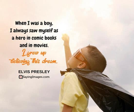 elvis presley dream quotes
