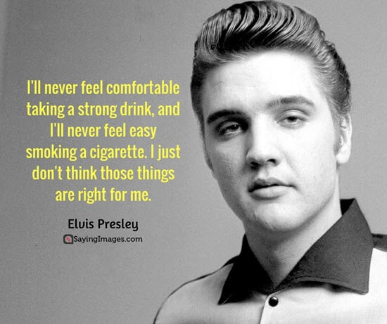 elvis presley quotations and sayings