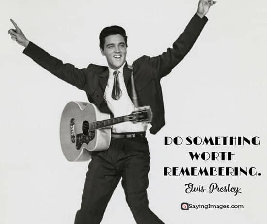 60 Elvis Presley Quotes You'll Find Inspiring SayingImages Mesmerizing Elvis Presley Quotes