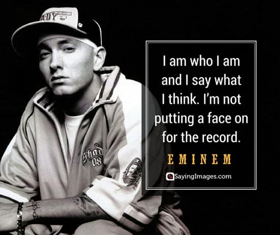 eminem i am quotes