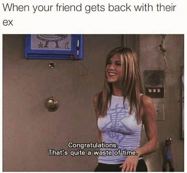 ex friends get back with memes