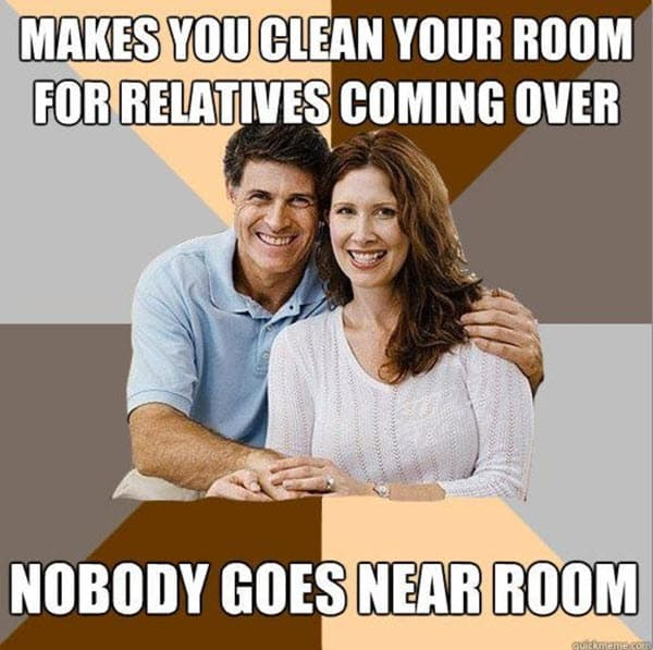 family clean room memes