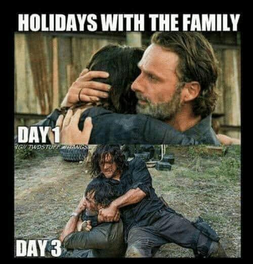 family holidays memes