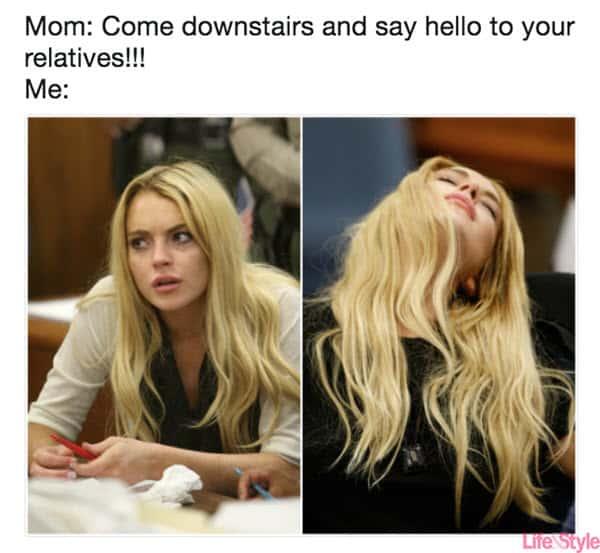 family relatives memes