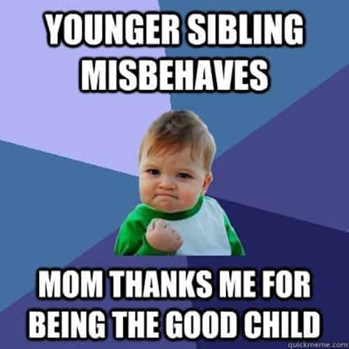 family younger sibling memes