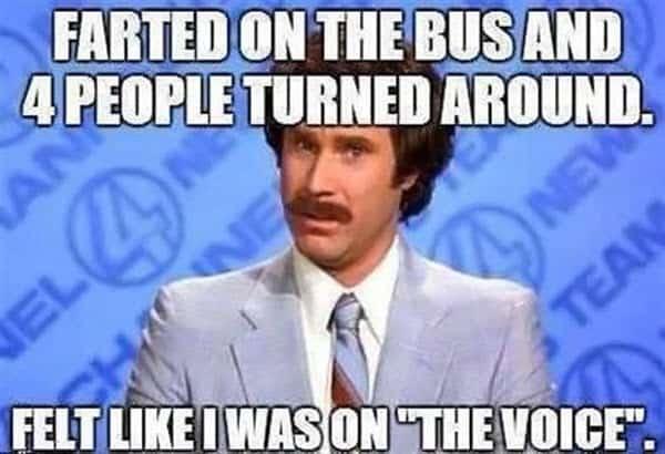 fart on the bus meme