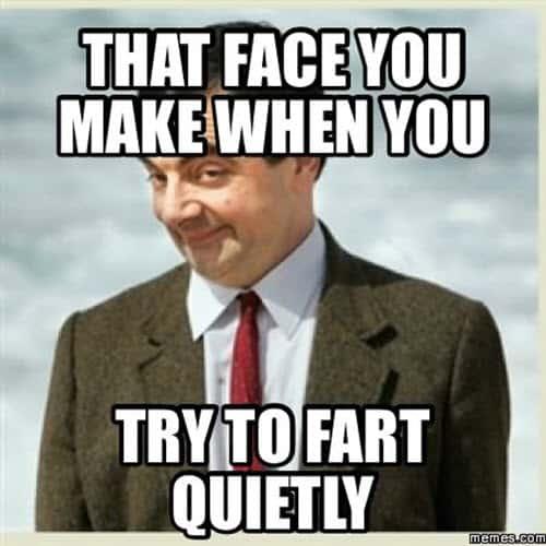 fart quietly meme