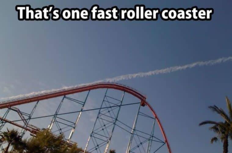 fast rollercoaster meme
