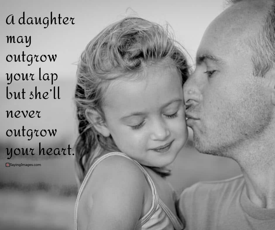 father daughter heart quotes