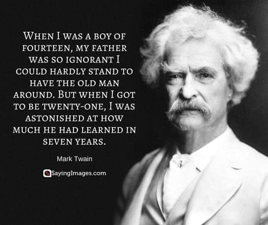 fathers day quotes mark twain