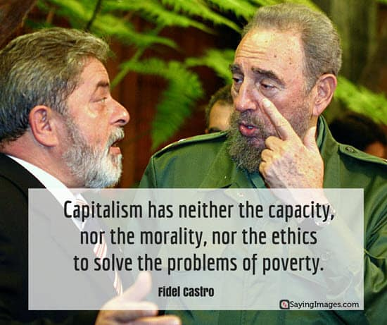 Image result for fidel castro capitalism