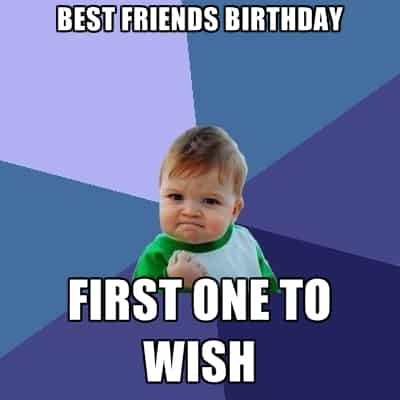 20 Birthday Memes For Your Best Friend Sayingimages Com