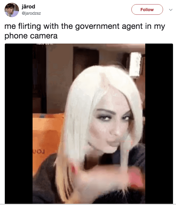 flirting fbi agent meme