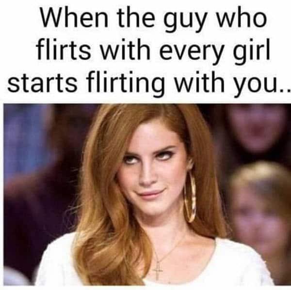 flirting when the guy meme