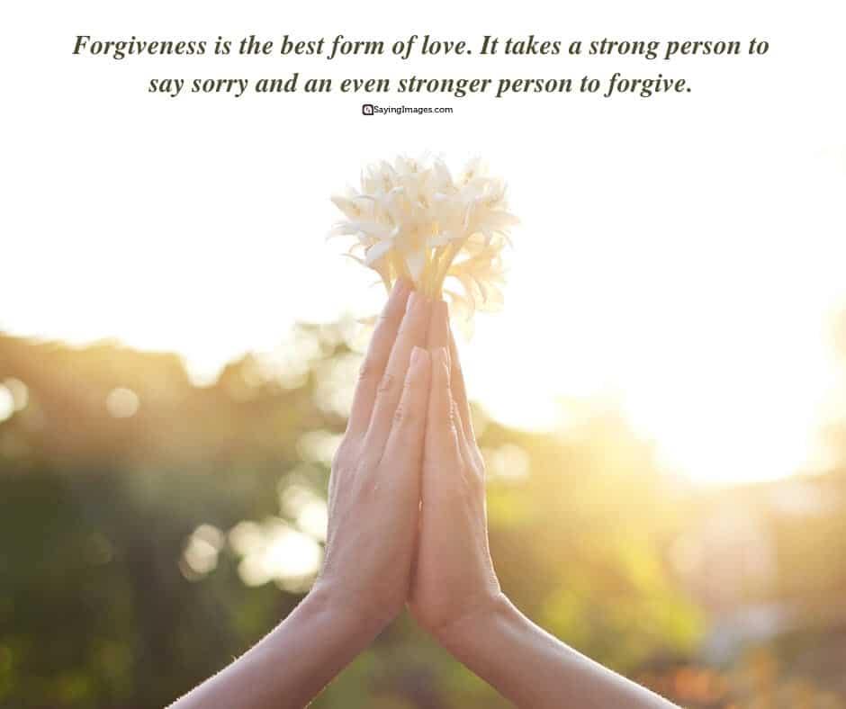 forgiveness person quotes