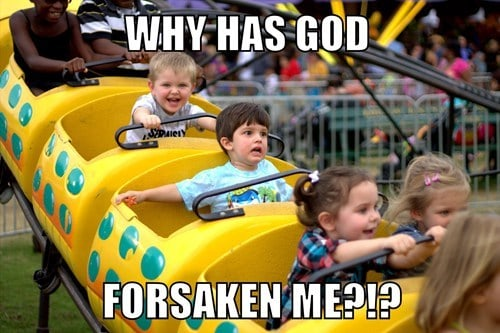 forsaken rollercoaster meme