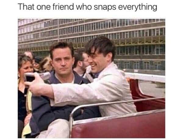 friends one friend meme