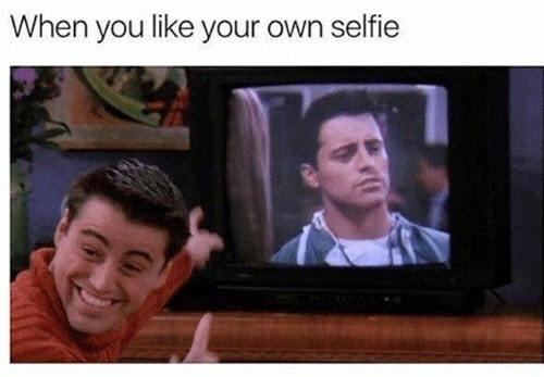 friends selfie meme