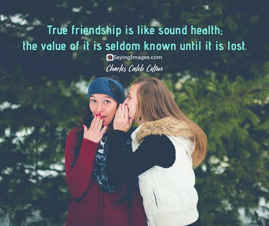 friendship true quotes