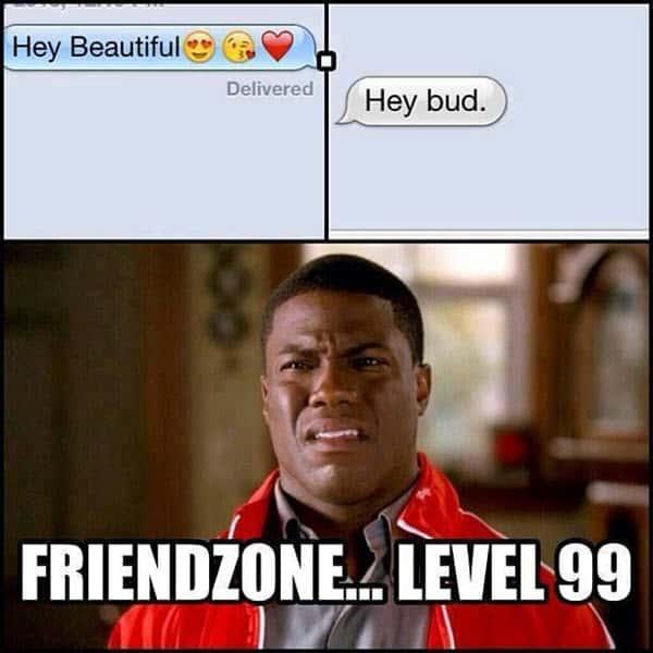 friendzone level 99 memes