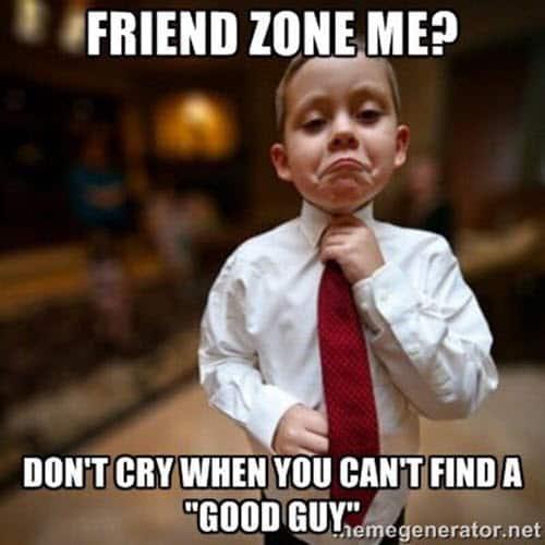 friendzone me memes