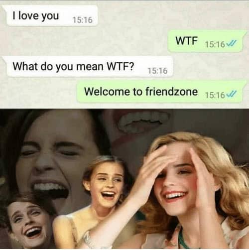 friendzone wtf memes