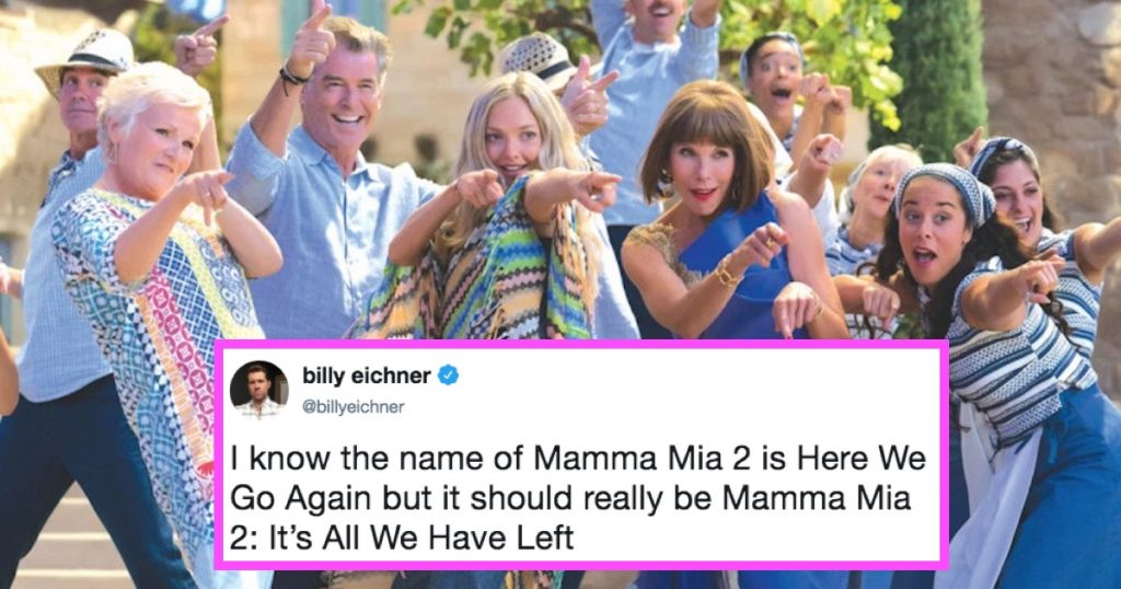 frustrated with mamma mia meme