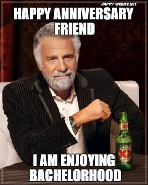 funny anniversary bachelorhood memes