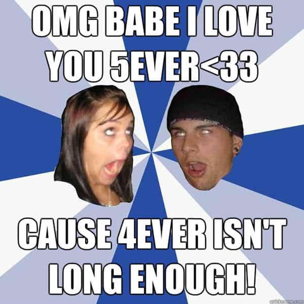 funny anniversary omg babe memes