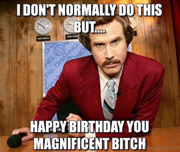 funny birthday dont normally do this memes