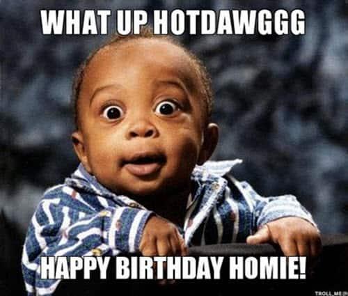 funny birthday hotdawg memes