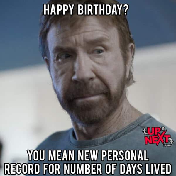 funny birthday new personal record memes