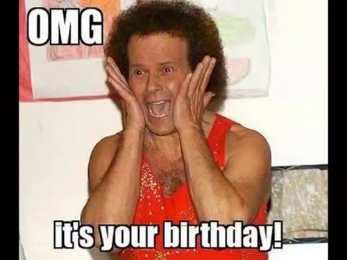 funny birthday omg memes