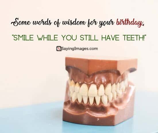 funny birthday smile wish