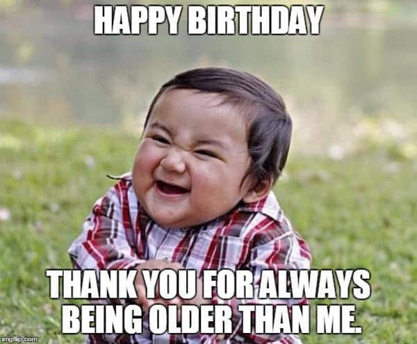 funny birthday thank you memes