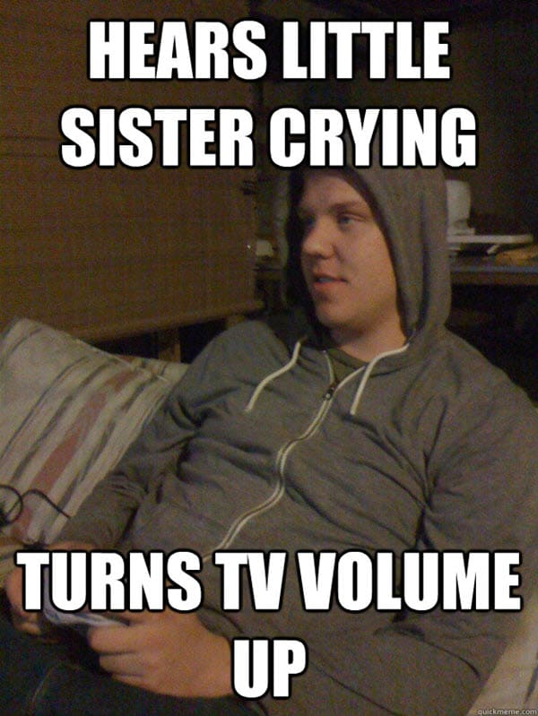 funny brother little sister memes