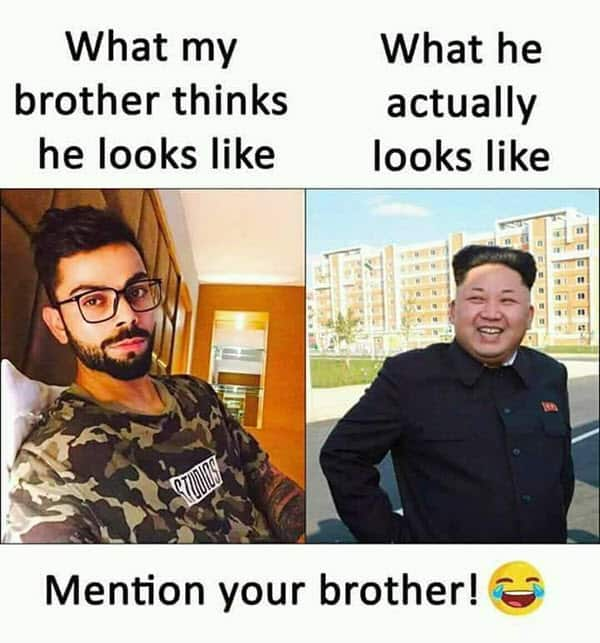 funny brother looks like memes