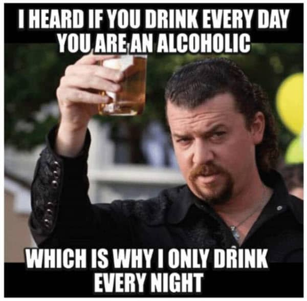 funny drunk alcoholic memes