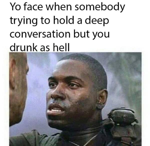 funny drunk face memes