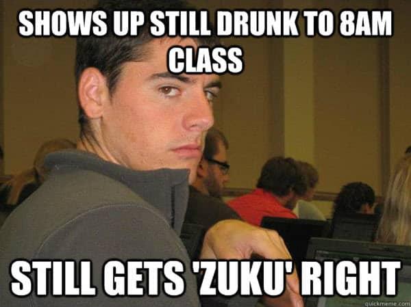 funny drunk zuku memes