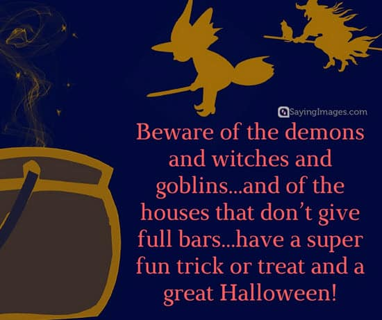 Happy Halloween Quotes Funny: Best Halloween Quotes And Sayings Images, Cards
