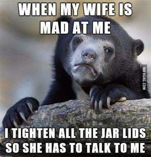 funny husband tighten all jar lids memes