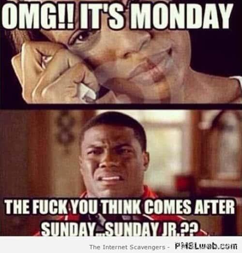 funny its monday meme