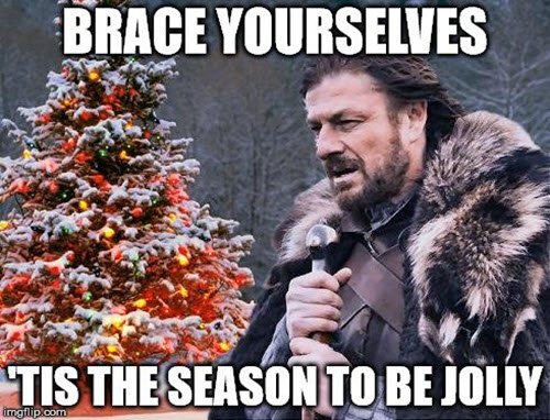 funny merry christmas game of thrones memes