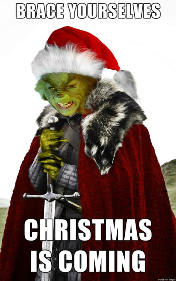 funny merry christmas grinch memes