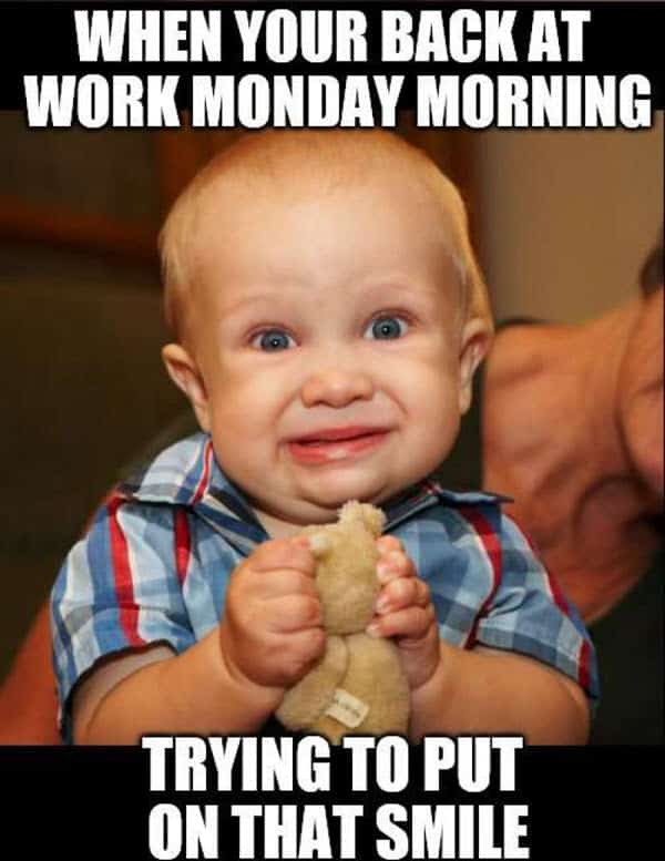 funny monday work meme