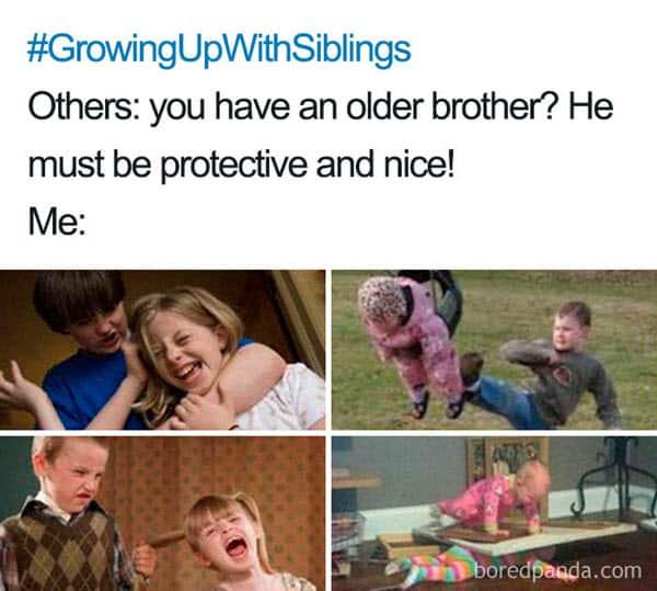funny older brother memes