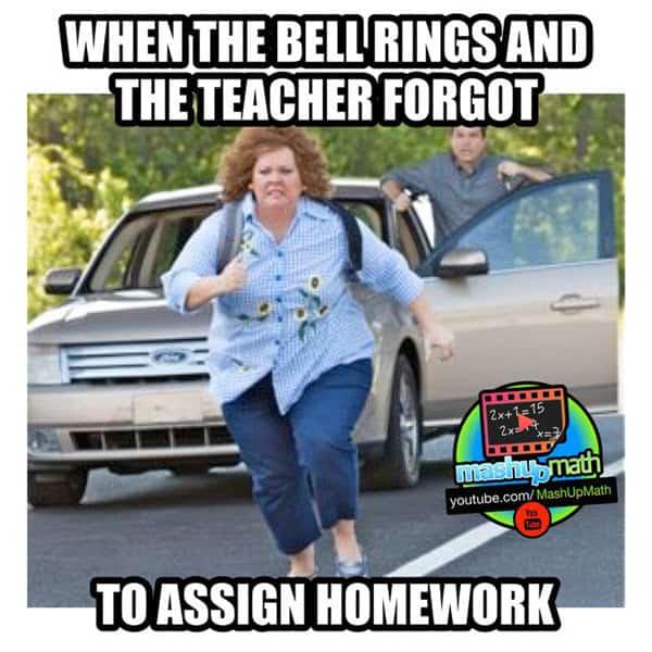 funny school bell rings memes